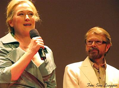 Meryl Streep och Björn Ulveus